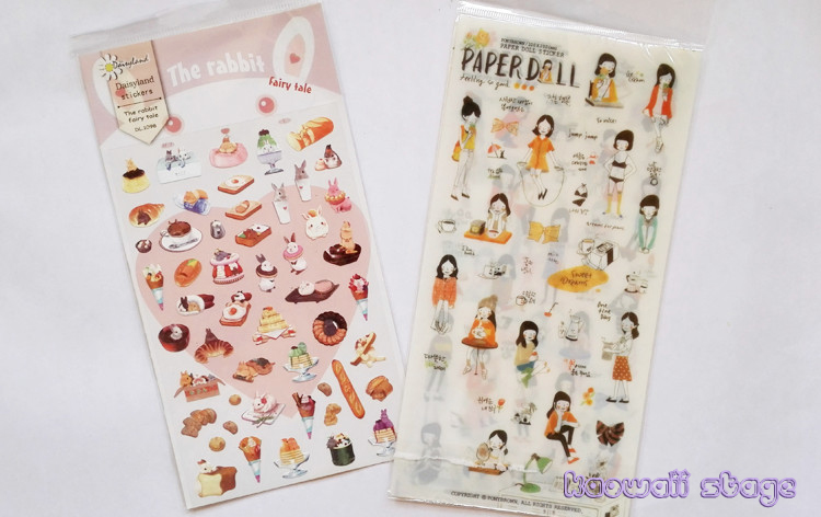 Sticker pack planner