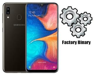 Samsung Galaxy A20 SM-A205G Combination Firmware