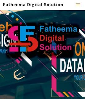 fatheema, logo, digital, solution
