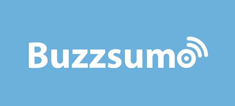 Alat pemasaran konten - BuzzSumo