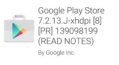 Google Play Store V7.2.13 Apk To Download by Google