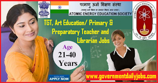 AEES Recruitment 2018 of 50 TGT, Art Education/Primary/Preparatory Teacher Vacancy