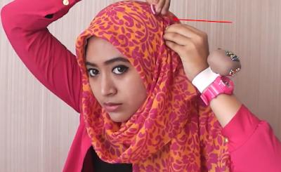 Tutorial Hijab Segi Empat Panjang