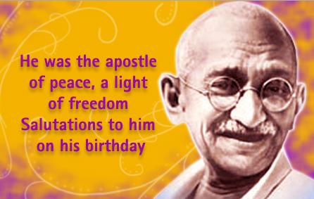Gandhi Jayanthi Wishes Images