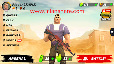 Download Guns of Boom - Online Shooter Mod Apk For Android