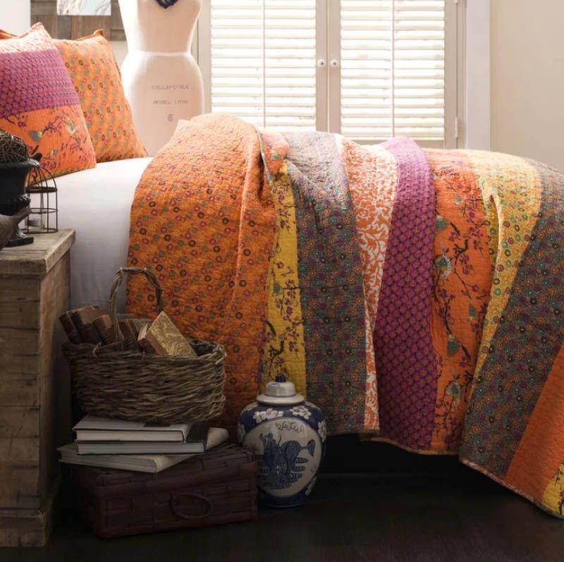Somerton Cotton 3 Piece Coverlet Set