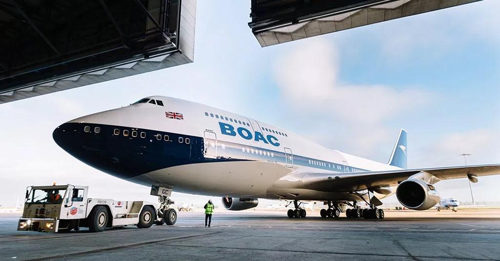 영국항공, BOAC 페인팅