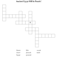 ancient Egypt crossword game