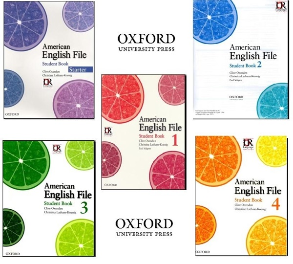 Oxford American English File Coleccion Completa