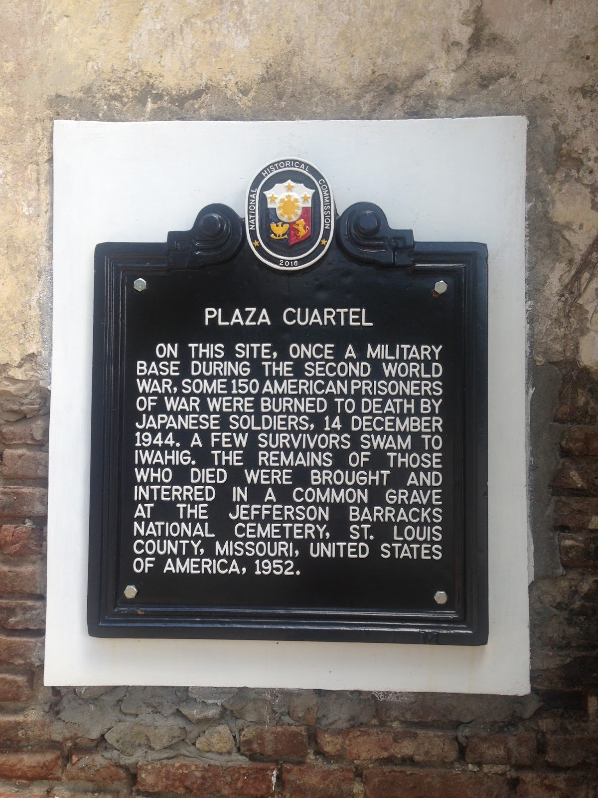 History of Plaza Cuartel