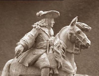 Quinto juego de ajedrez, duque de Vendôme, caballo blanco