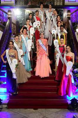 Presentación candidatas a Reina del Carnaval 2017 de Las Palmas de Gran Canaria