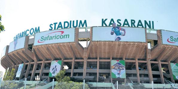 Kasarani stadium prepared. PHOTO | FILE