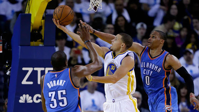 Golden State Warriors Samakan Kedudukan 1-1 Di Final Wilayah Barat
