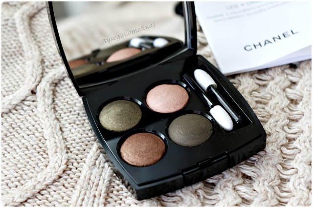 Chanel Tisse d'Automme Eyeshadow Quad İnceleme ve Swatch