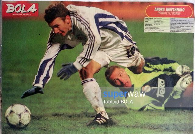 Poster Andriy Shevchenko Dynamo Kiev