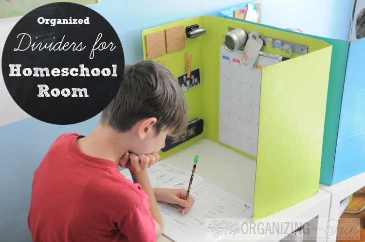 Homeschool Organizing Ideas! Organizing Made Fun Homeschool