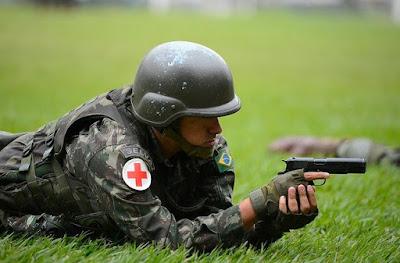 Armas apreendidas pela Justiça serão doadas às Forças Armadas