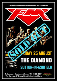 FM live at Sutton-in-Ashfield The Diamond - 25 August 2017 - poster