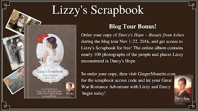 Ginger Monette - Lizzy's Scrapbook Blog Tour Bonus