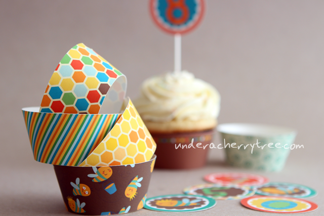 http://underacherrytree.blogspot.com/2014/05/friday-freebies-bee-knees-cupcake.html