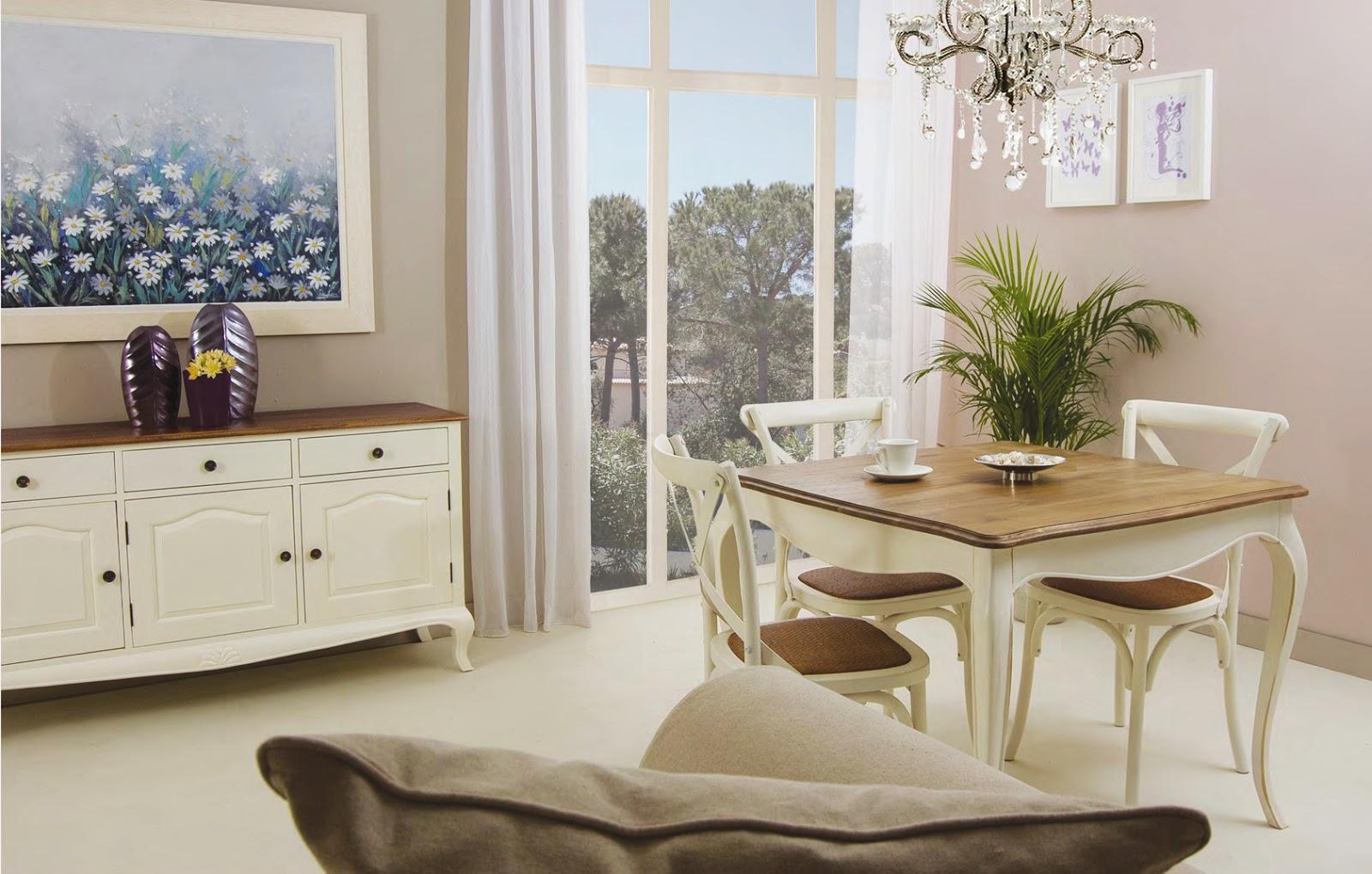 Muebles de comedor comedores clasicos blancos - Comedores clasicos ...