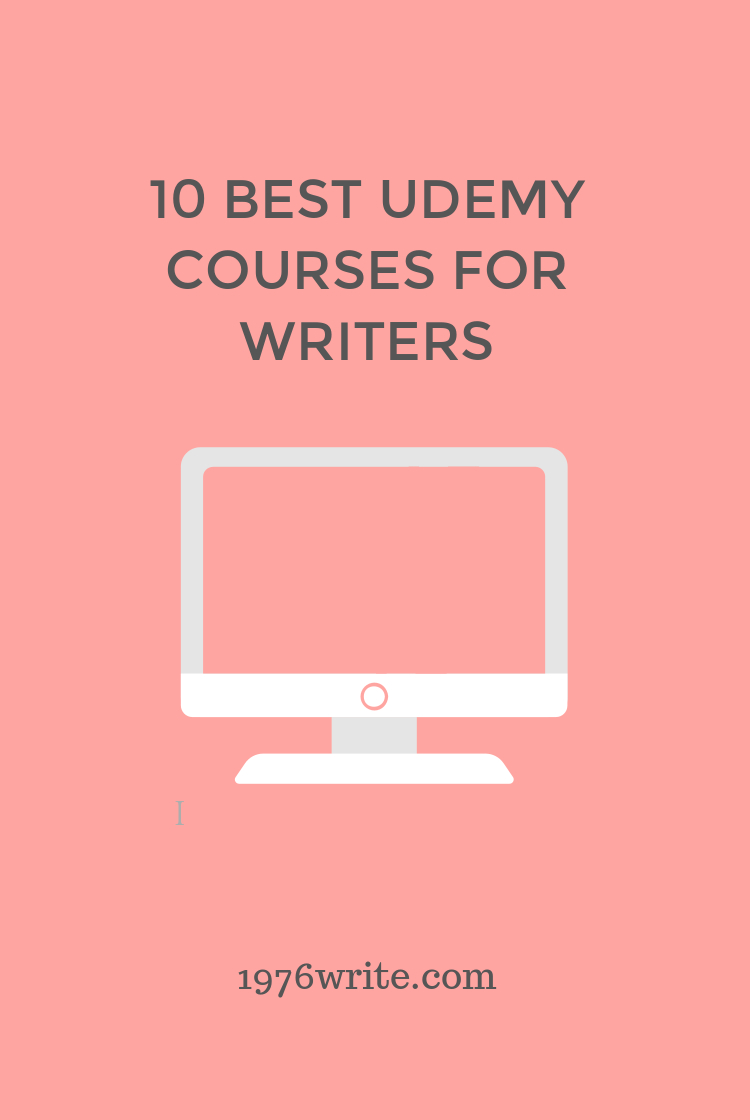 1976write: 10 Best Udemy Courses for Writers