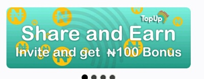 Easy Way To Earn Airtime (money) Worth 1000+ With Topup Africa App