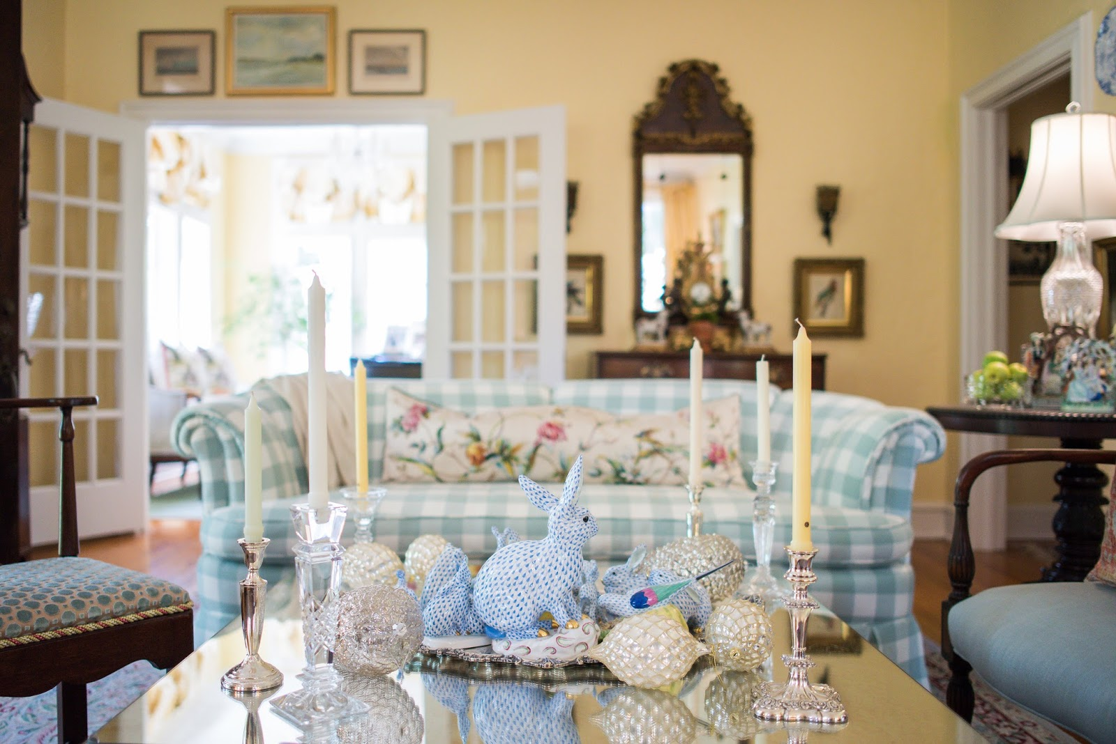 A Classic and Elegant Southern Cottage - The Glam Pad