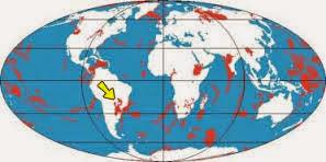 Como são as províncias geológicas
