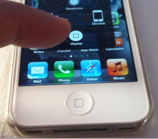 iphone 5c home button not working the assistive touch quot soft quot on screen home button for 9081