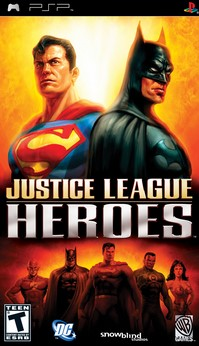 Download Justice League - Heroes PPSSPP CSO