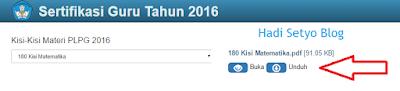 Panduan Download Kisi-kisi PLPG 2016 di http://sergur.kemdiknas.go.id/pub/index.php?pg=kisikisi, Download Kisi-kisi PLPG 2016, Kisi-kisi PLPG 2016, PLPG 2016 pict