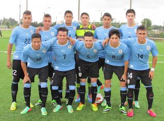 Uruguay U20 enfrenta a Brasil Sub 20 en Hexagonal Final /en Sudamericano Sub 20 Ecuador 2017