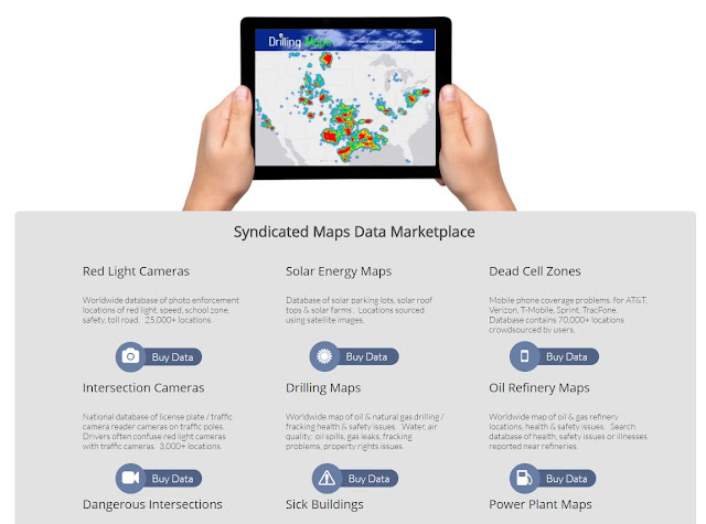 syndicated maps data marketplace