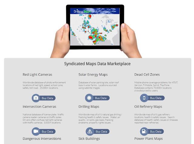 syndicated maps data marketplace