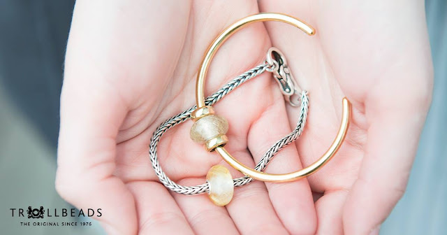 Simple bangles from Trollbeads collection