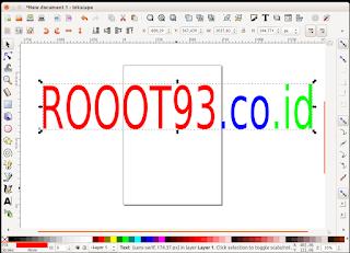 Area Kerja Inkscape