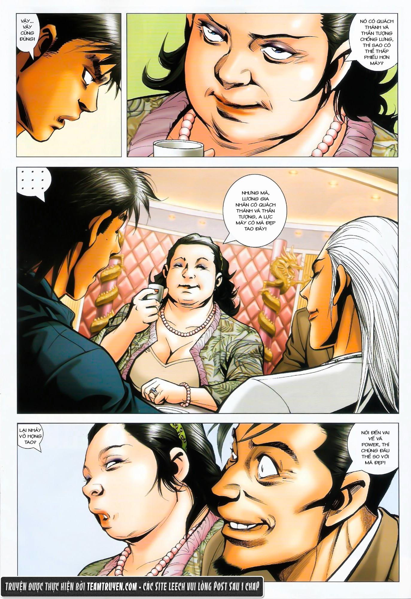 Người Trong Giang Hồ NetTruyen chap 1487 - Trang 10