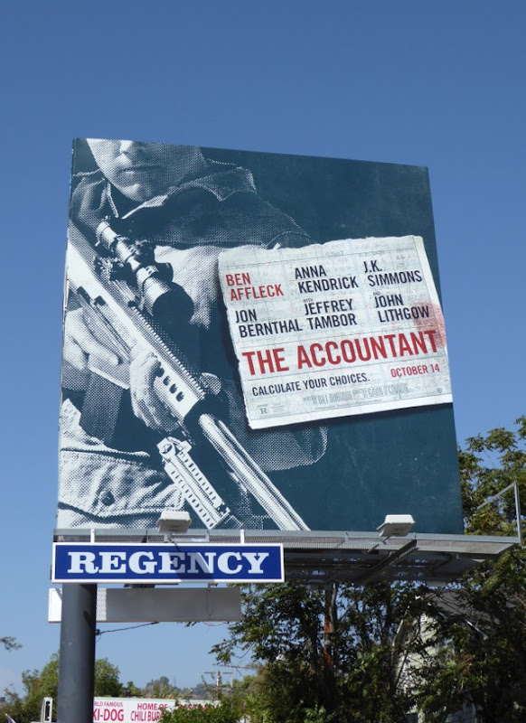 Accountant film billboard