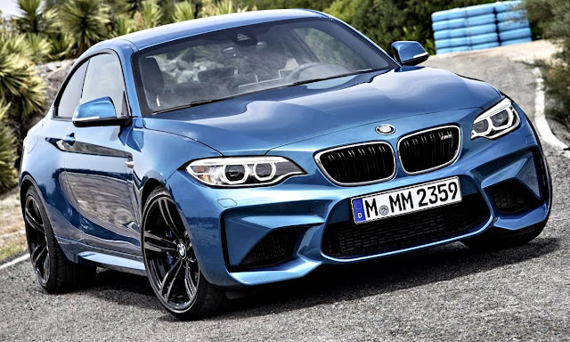 BMW M2 Coupé 2017 frontal