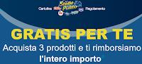 Logo Le Stelle del Pulito ''Gratis per te'': rimborso fino a 15€