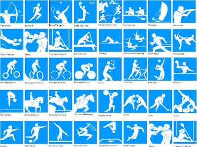 icon, lambang, logo Cabang olahraga