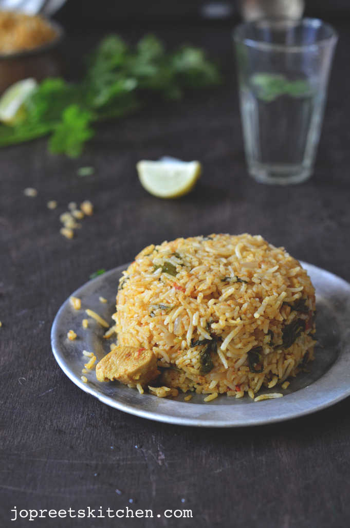 south indian chicken biryani recipe in tamil video