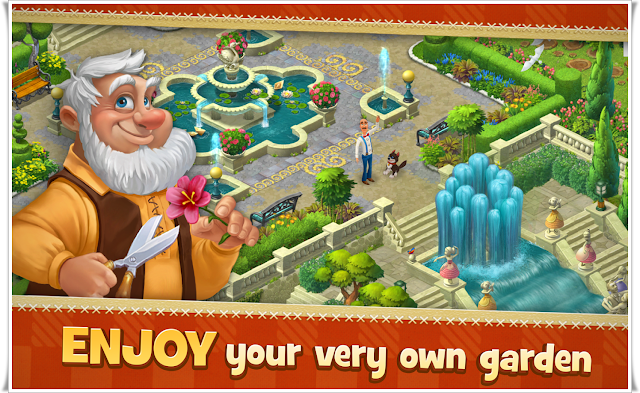 Gardenscapes-Screenshots