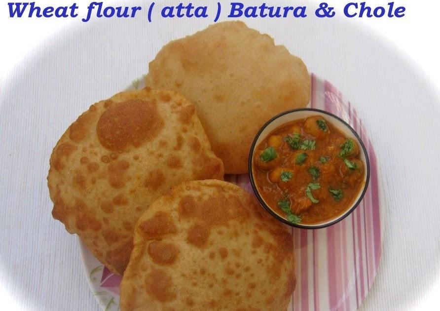 Niya's World: Whole wheat ( atta ) flour Batura
