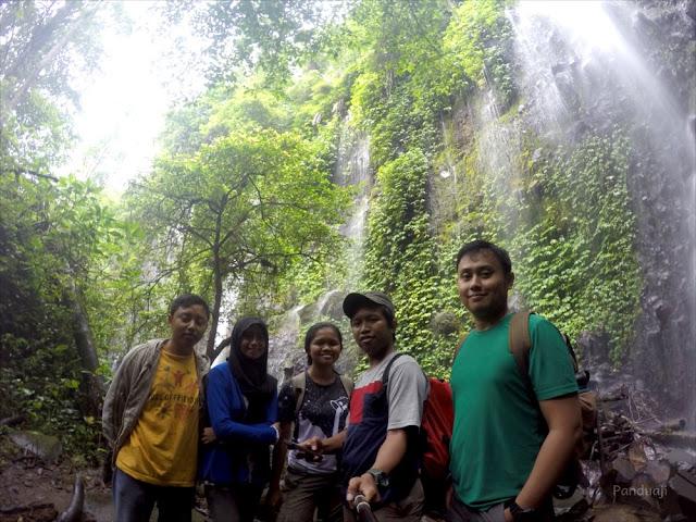 Air Terjun Laweyan di Perkebunan Kawisari