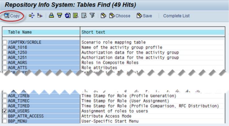 SAP SE11, grafische Visualisierung von Tabellen und -beziehungen ...