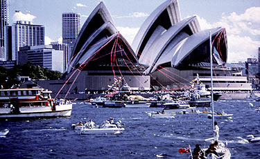 Wonders Of The World Sydney Opera House Australia