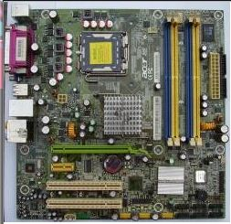 ACER EVOLUTION: Motherboard - Acer FQ965M (Intel® Q965